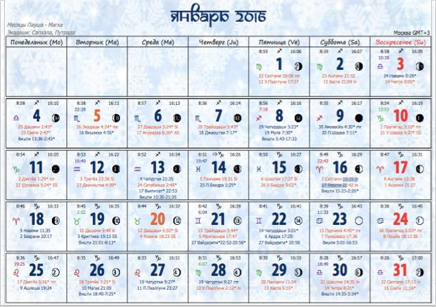 Ведические праздники календарь 2017